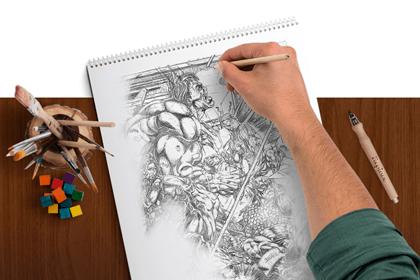 Miniatura do Desenho a mão livre