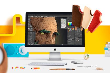 Miniatura do curso Design Gráfico - Criação Publicitária